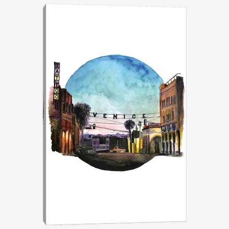 Venice On My Mind Canvas Print #HPE44} by Heather Perry Art Print