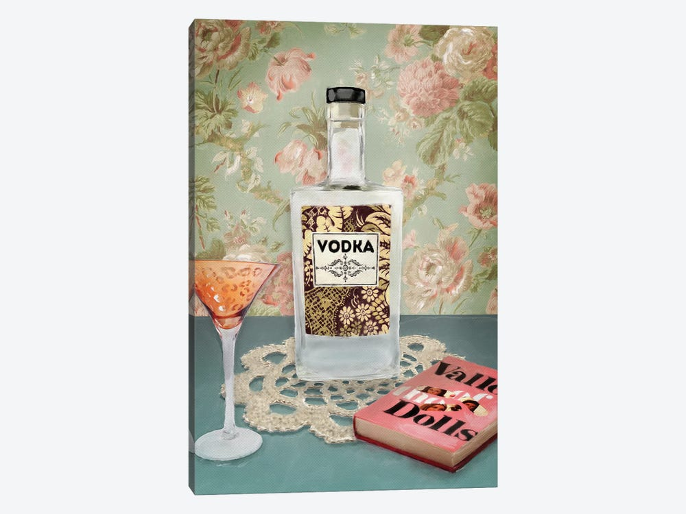 Vodka Still Life 1-piece Art Print