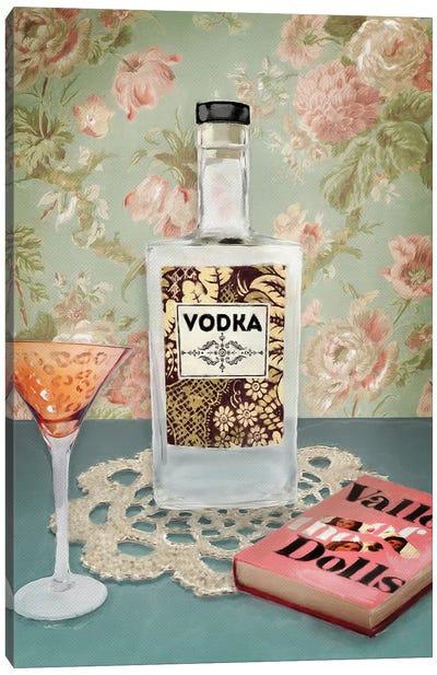 Vodka Still Life Canvas Art Print