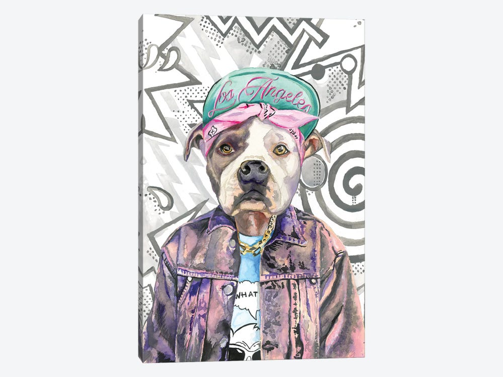 What's Up Dog by Heather Perry 1-piece Canvas Artwork