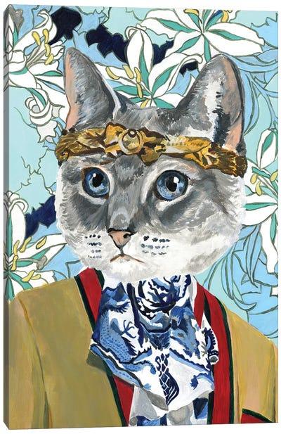Gucci Cat Canvas Art Print