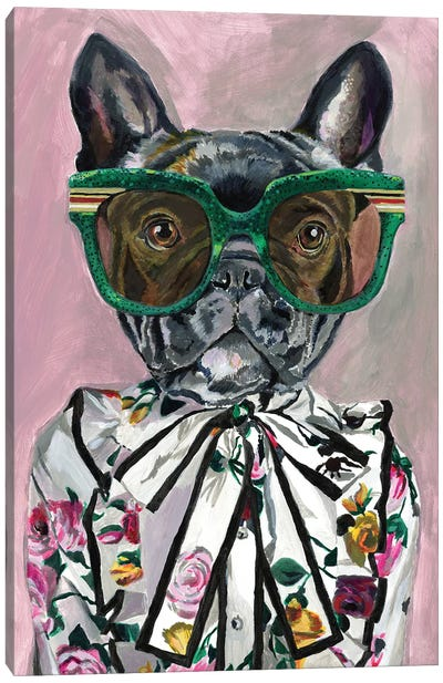 Gucci Frenchie Canvas Art Print