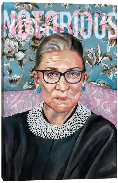 RBG Canvas Art Print
