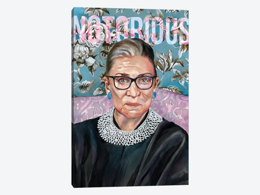 RBG by Heather Perry 1-piece Canvas Wall Art