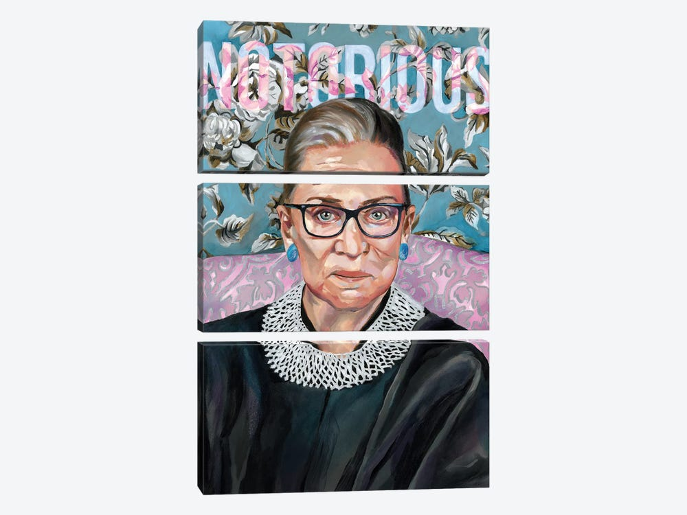 RBG by Heather Perry 3-piece Canvas Wall Art