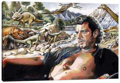 Chaos Theory Canvas Art Print