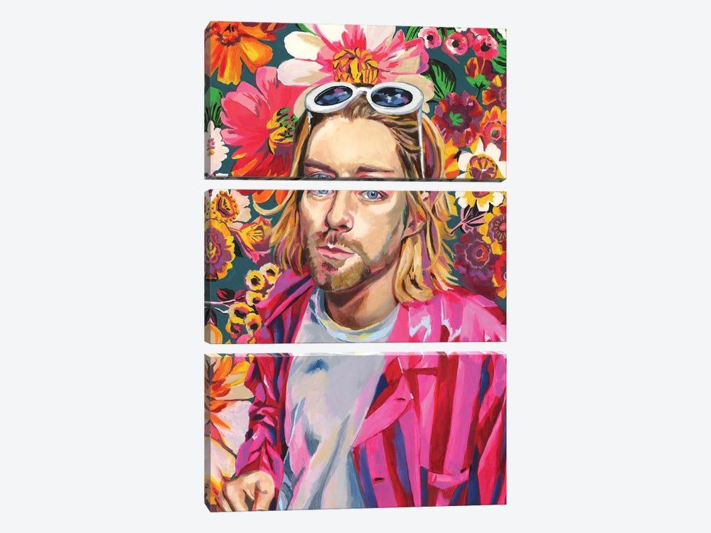 Kurt by Heather Perry 3-piece Canvas Artwork
