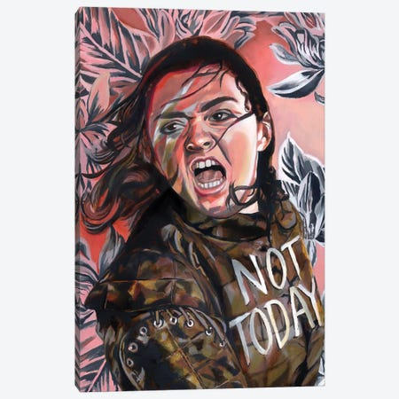 Arya Canvas Print #HPE57} by Heather Perry Canvas Art