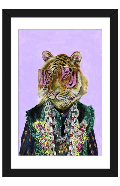 Gucci Bengal Tiger Framed Art Print