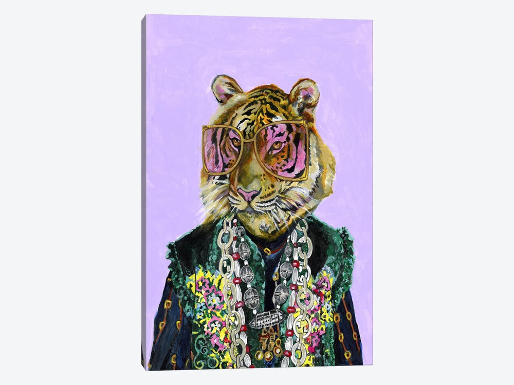 Gucci Bengal Tiger by Heather Perry 1-piece Canvas Art