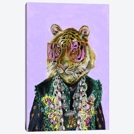 Gucci Bengal Tiger Canvas Print #HPE59} by Heather Perry Canvas Art Print
