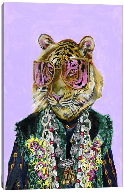 Gucci Bengal Tiger Canvas Art Print