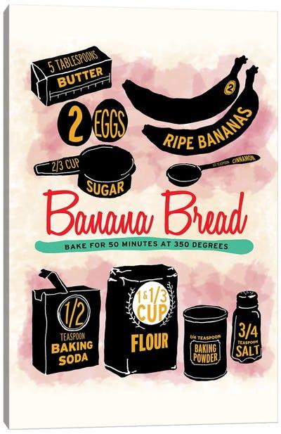 Banana Bread Canvas Art Print