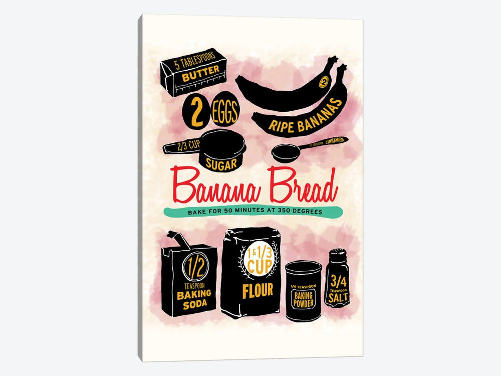 Banana Bread by Heather Perry 1-piece Canvas Art Print