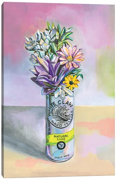 Seltzer Still Life 3 Canvas Art Print
