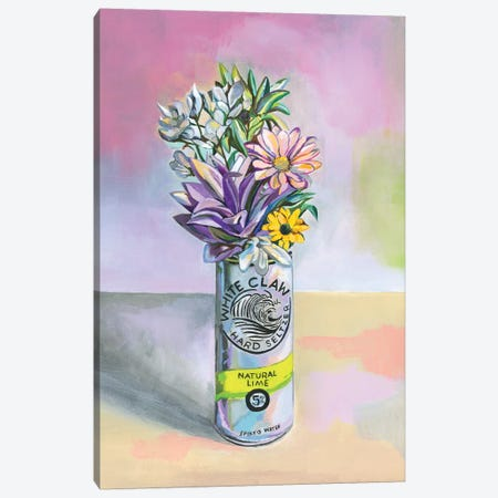 Seltzer Still Life 3 Canvas Print #HPE63} by Heather Perry Canvas Wall Art