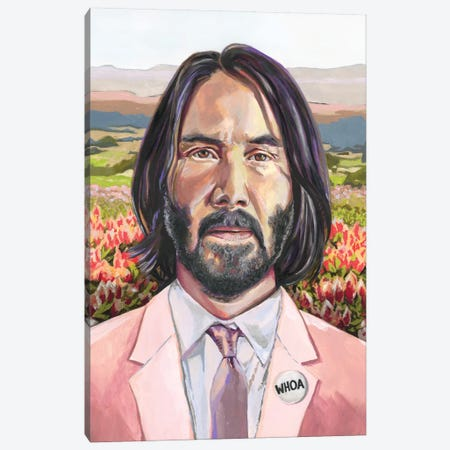 Keanu Canvas Print #HPE65} by Heather Perry Art Print