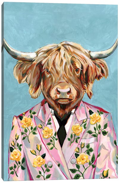 Gucci Cow Canvas Art Print