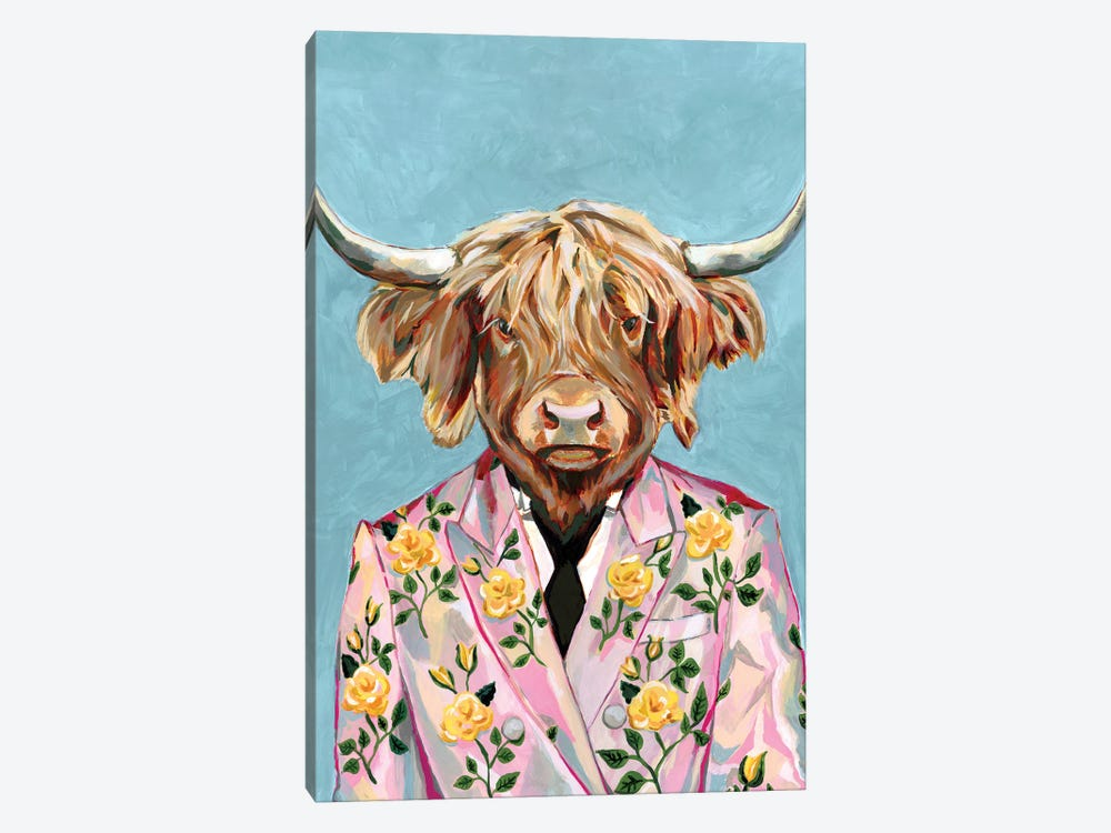 Gucci Cow by Heather Perry 1-piece Canvas Wall Art