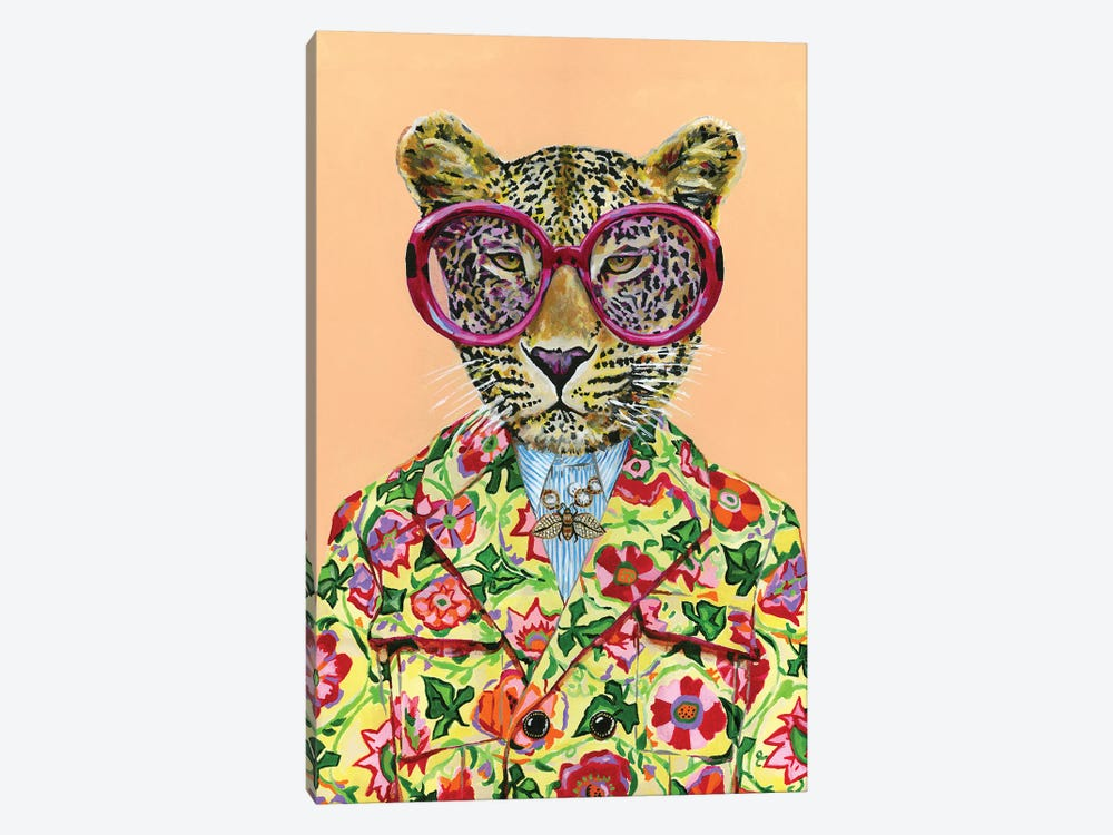 Gucci Leopard by Heather Perry 1-piece Canvas Artwork