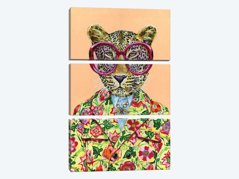 Gucci Leopard by Heather Perry 3-piece Canvas Wall Art