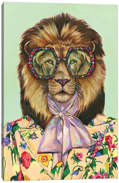 Gucci Lion Canvas Art Print