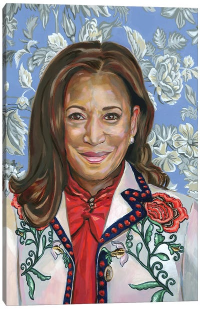 Kamala Canvas Art Print