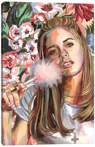 Cher Canvas Art Print