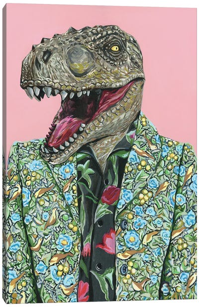 Gucci T-Rex Canvas Art Print