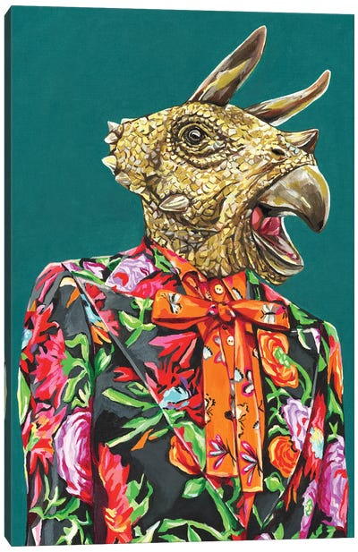 Gucci Triceratops Canvas Art Print