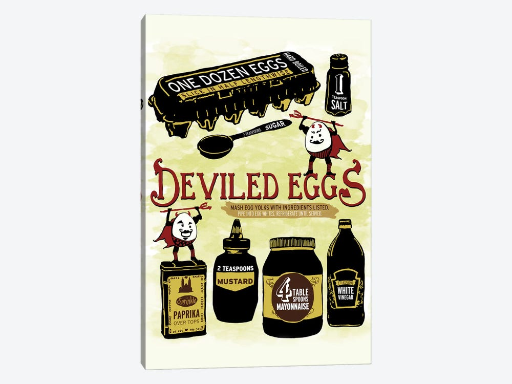 Deviled Eggs by Heather Perry 1-piece Canvas Art