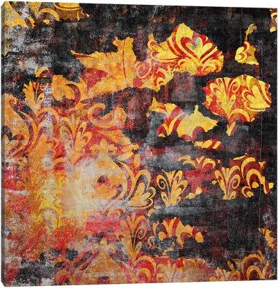 Incoherent Fragment Torn Canvas Art Print