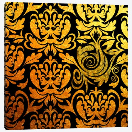 Modular Movement in Black & Gold Canvas Print #HPP23} by 5by5collective Canvas Art Print