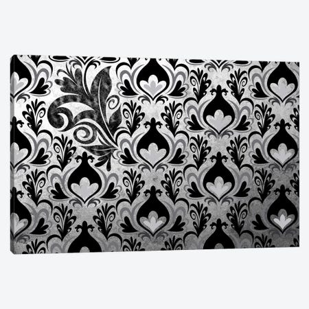 Incoherent Fragment in Black & White Extended Canvas Print #HPP40} by 5by5collective Art Print