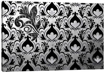 Incoherent Fragment in Black & White Extended Canvas Art Print