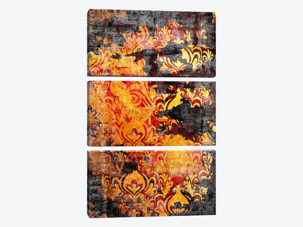 Incoherent Fragment Torn Extended by 5by5collective 3-piece Canvas Art