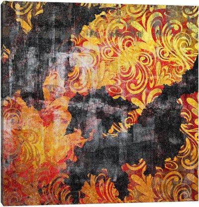 Element of Peace Torn Canvas Art Print