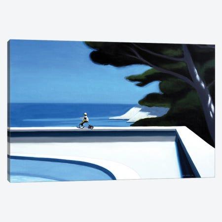 Summer Breeze Canvas Print #HPZ11} by Hugo Pondz Canvas Artwork