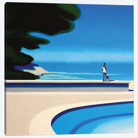 Summer Smells Canvas Print #HPZ12} by Hugo Pondz Canvas Wall Art