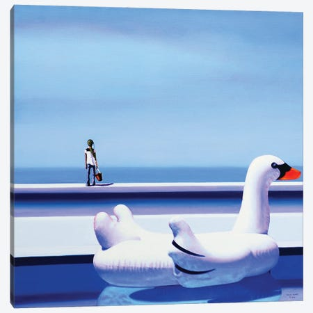 A Beautiful Day Canvas Print #HPZ1} by Hugo Pondz Art Print