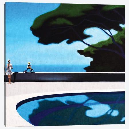 The Upcomming Arrival Canvas Print #HPZ21} by Hugo Pondz Art Print