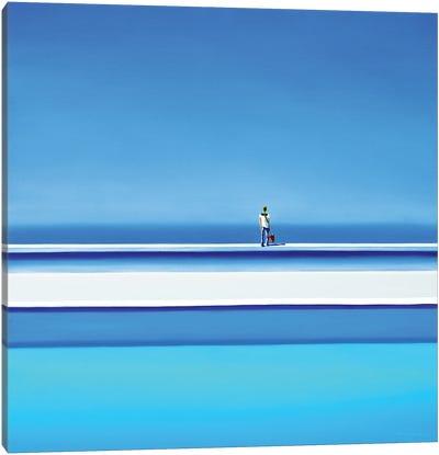 South Sea Colors Canvas Art Print