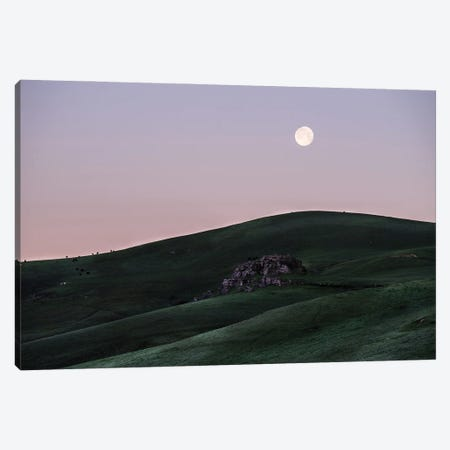 Full Moon At Dawn Canvas Print #HRB20} by Heather Roberson Canvas Art