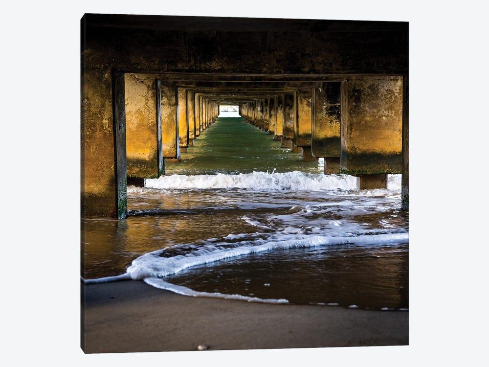 Under The Pier by Heather Roberson 1-piece Canvas Artwork