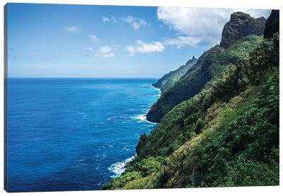 Napali Coast Canvas Art Print