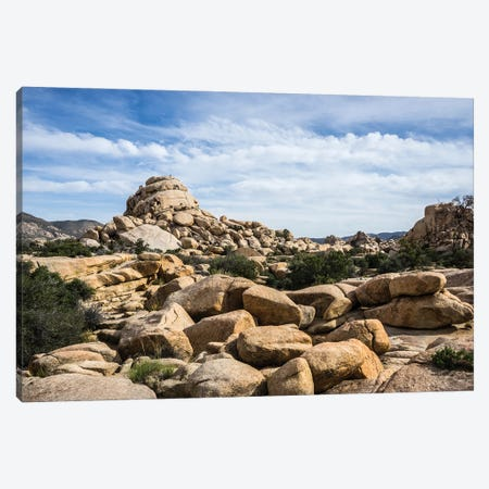 Rocky Vista Canvas Print #HRB27} by Heather Roberson Art Print