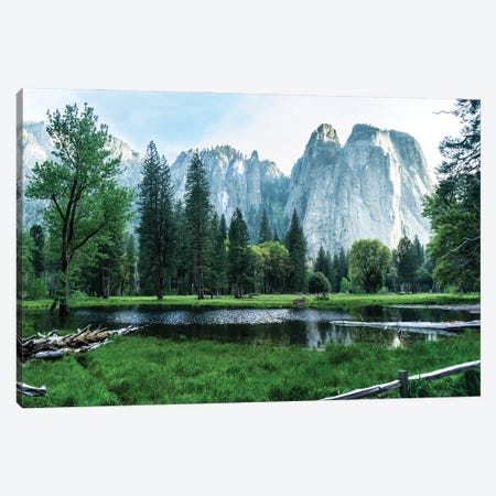 Cathedral Rocks Canvas Print #HRB34} by Heather Roberson Canvas Wall Art