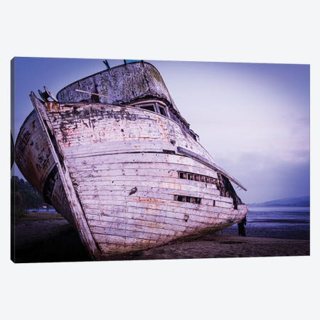 Shipwreck Canvas Print #HRB39} by Heather Roberson Canvas Print