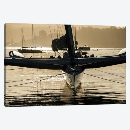 Crisscross Canvas Print #HRB44} by Heather Roberson Art Print