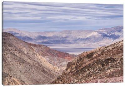 Rainbow Canyon Canvas Art Print